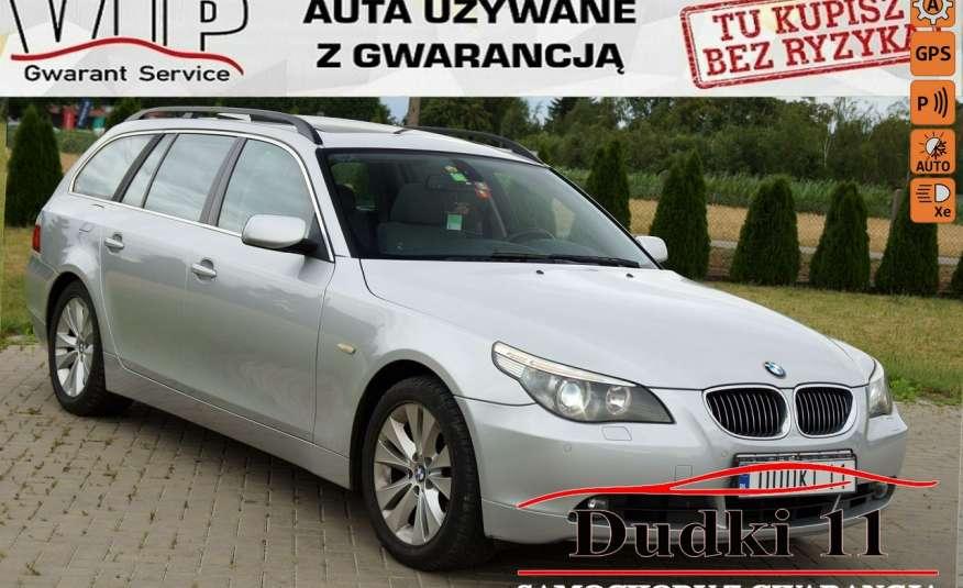 BMW 530 3.0d aut, navi, panorama, skóry, podgrz.fot., parktr, alu, bixen, GWA zdjęcie 1