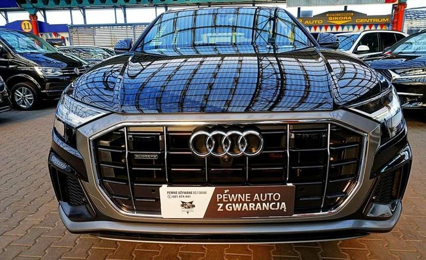Audi Q8 GWARANCJA 1WŁ Kraj Bezwypadk 55TFSI V6 340KM S-Line 4x4 QUATTRO FV23% 4x2 zdjęcie 1