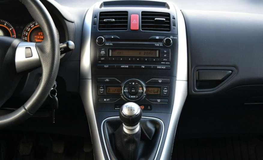 Toyota Auris Climatronic Serwis ASO Zarejestrowany 60tkm Opony zimowe Lift zdjęcie 9