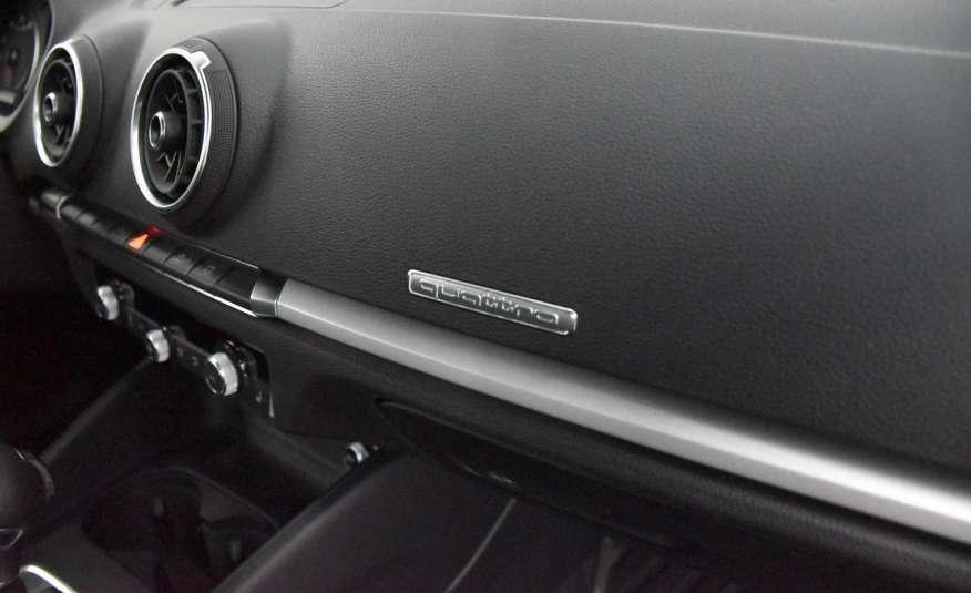 Audi A3 LED, Skóry , Quattro, Klima 2 strefy , Nawigacja , Czujniki Parkowania 4x2 zdjęcie 38