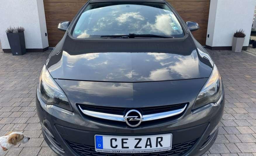 Opel Astra 1.4 benzyna 5 drzwi serwisowana bezwypadkowa 13r zdjęcie 2