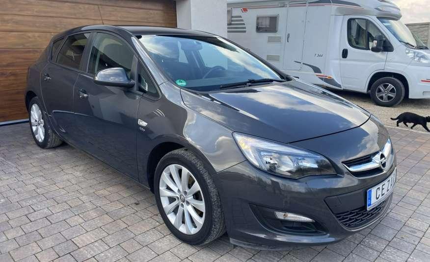 Opel Astra 1.4 benzyna 5 drzwi serwisowana bezwypadkowa 13r zdjęcie 3