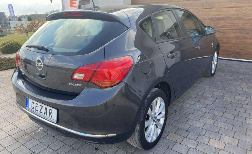 Opel Astra 1.4 benzyna 5 drzwi serwisowana bezwypadkowa 13r zdjęcie 4