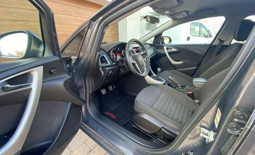 Opel Astra 1.4 benzyna 5 drzwi serwisowana bezwypadkowa 13r zdjęcie 7