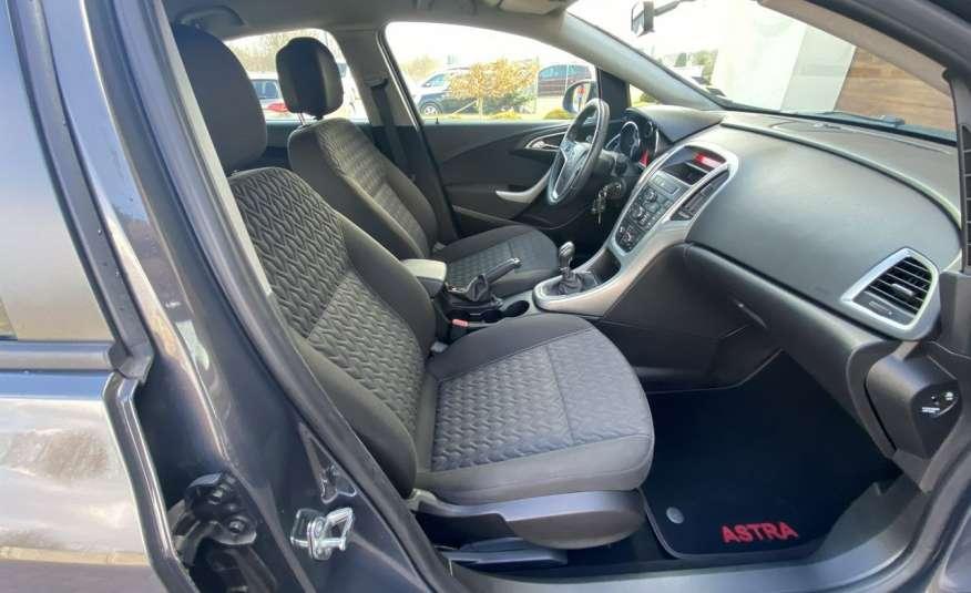 Opel Astra 1.4 benzyna 5 drzwi serwisowana bezwypadkowa 13r zdjęcie 8