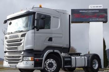 Scania R 450 / RETARDER / HYDRAULIKA / NISKA KABINA CR 19 / EURO 6 / ALUFELGI /