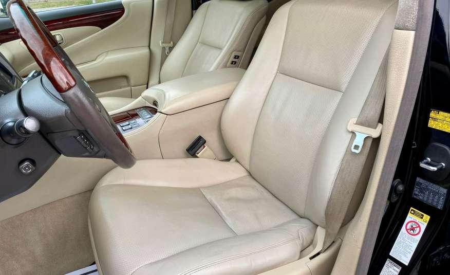 Lexus LS LS 460 v8 367KM.4x4 AWD, najbogatsza wer, zamiana 2 lata gwarancji zdjęcie 7