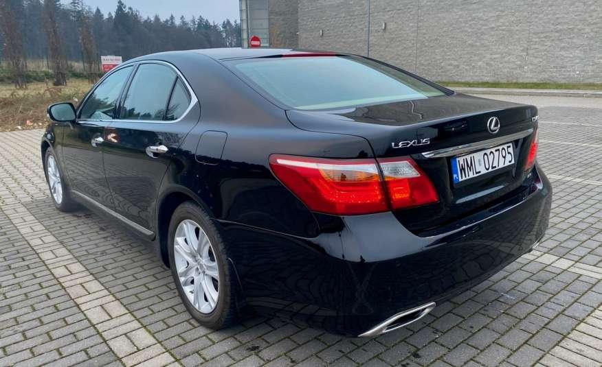 Lexus LS LS 460 v8 367KM.4x4 AWD, najbogatsza wer, zamiana 2 lata gwarancji zdjęcie 8