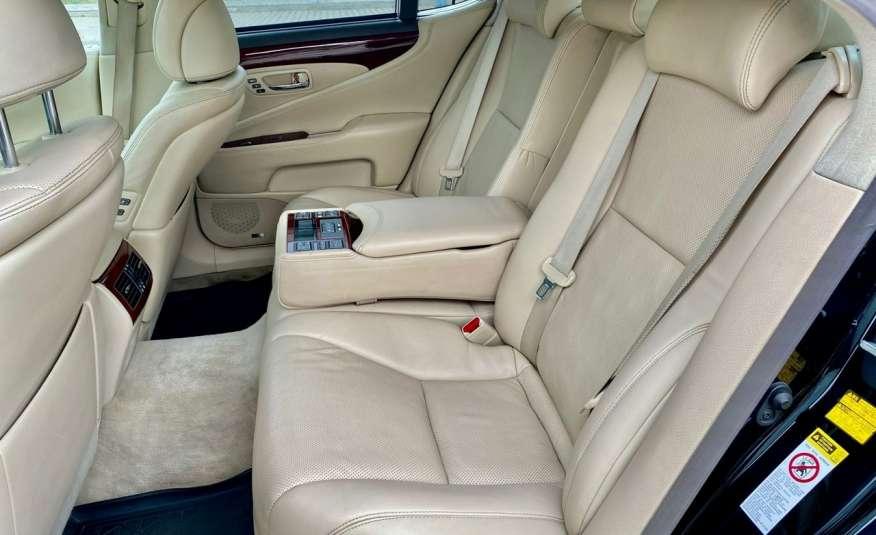 Lexus LS LS 460 v8 367KM.4x4 AWD, najbogatsza wer, zamiana 2 lata gwarancji zdjęcie 9
