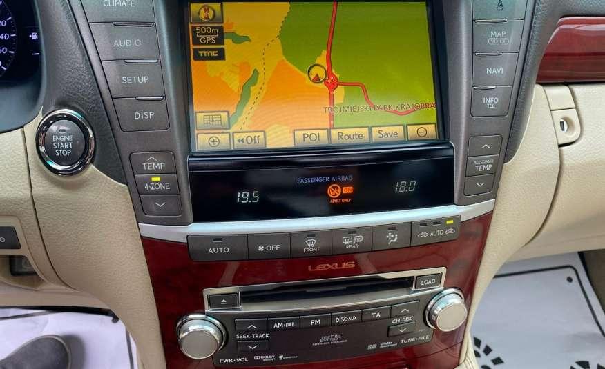 Lexus LS LS 460 v8 367KM.4x4 AWD, najbogatsza wer, zamiana 2 lata gwarancji zdjęcie 10