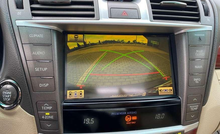 Lexus LS LS 460 v8 367KM.4x4 AWD, najbogatsza wer, zamiana 2 lata gwarancji zdjęcie 11