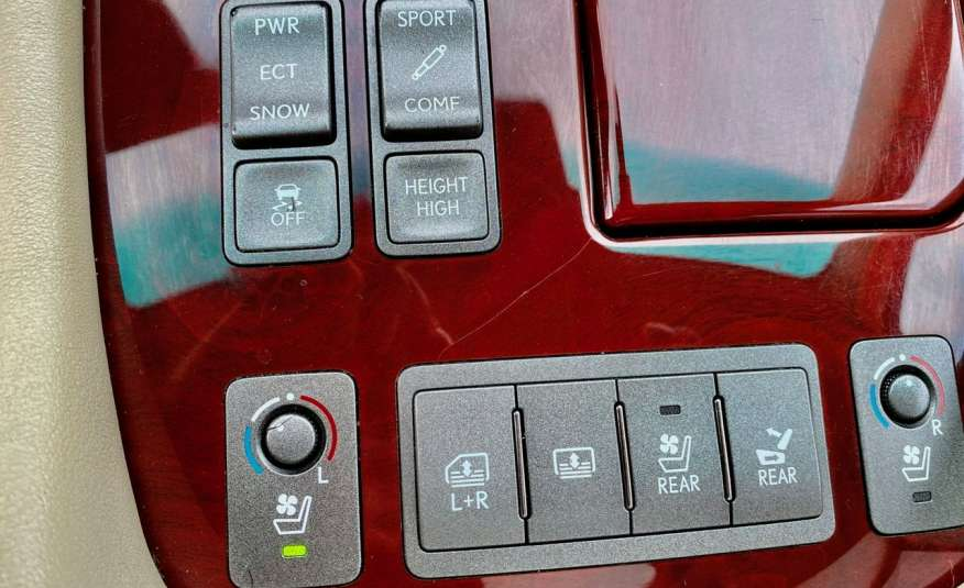 Lexus LS LS 460 v8 367KM.4x4 AWD, najbogatsza wer, zamiana 2 lata gwarancji zdjęcie 14