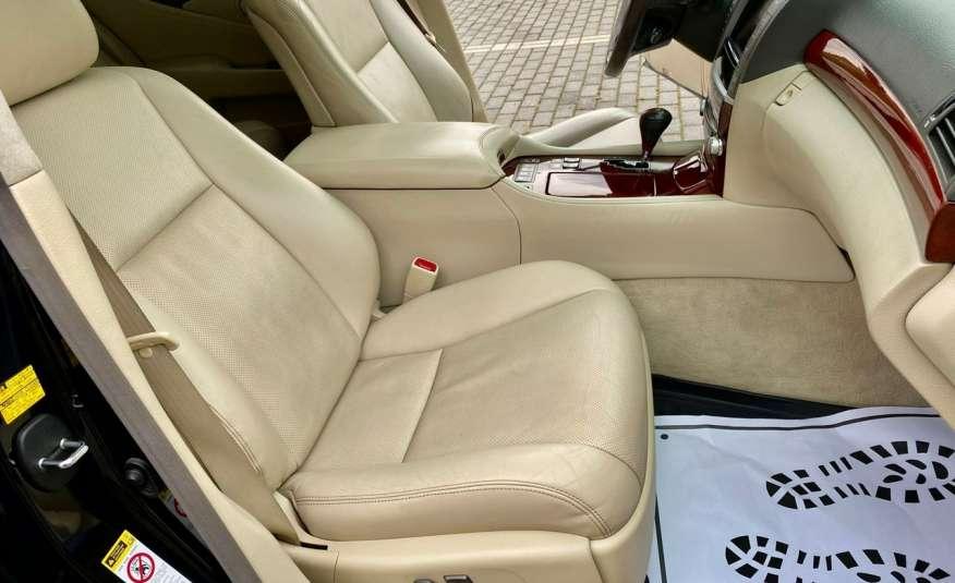 Lexus LS LS 460 v8 367KM.4x4 AWD, najbogatsza wer, zamiana 2 lata gwarancji zdjęcie 15