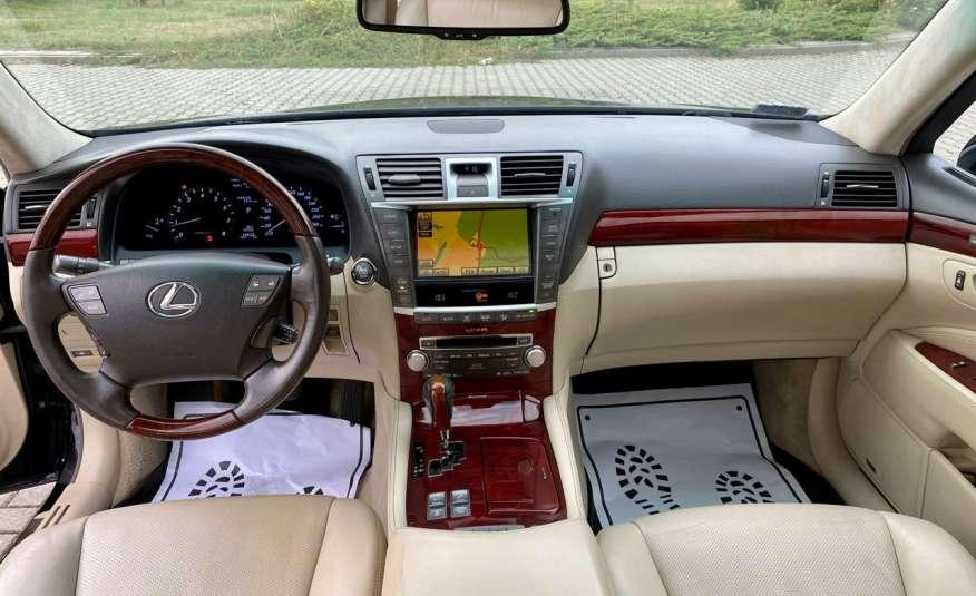 Lexus LS LS 460 v8 367KM.4x4 AWD, najbogatsza wer, zamiana 2 lata gwarancji zdjęcie 25
