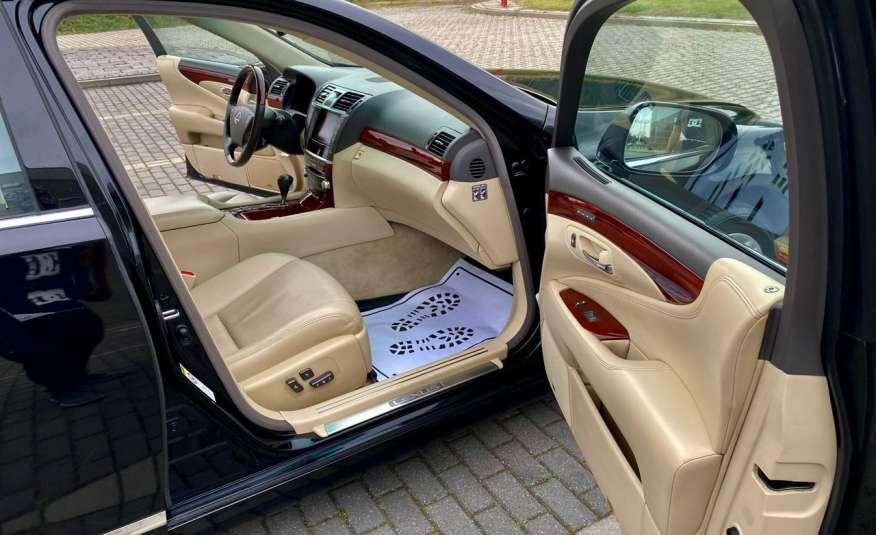 Lexus LS LS 460 v8 367KM.4x4 AWD, najbogatsza wer, zamiana 2 lata gwarancji zdjęcie 28