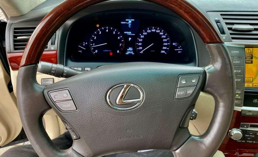 Lexus LS LS 460 v8 367KM.4x4 AWD, najbogatsza wer, zamiana 2 lata gwarancji zdjęcie 39
