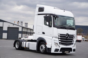 Mercedes ACTROS / 1845 / MP 4 / EURO 6 / MEGA / LOW DECK