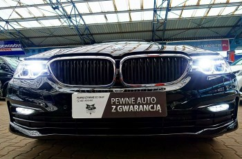 BMW 530 3 LATA GWARANCJA 1WŁ Kraj Bezwypadkowy 252KM 4x4 xDrive SPORT FV23% 4x2
