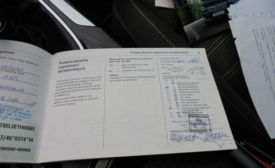 Opel Insignia Pełen serwis , bezwypadkowa , wyposażona , super zadbana, zarejestrowana zdjęcie 33