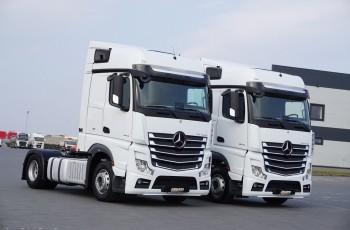 Mercedes ACTROS / 1843 / ACC / MP 4 / EURO 6 / BIG SPACE / MAŁY PRZEBIEG