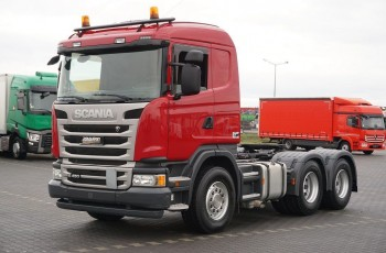 Scania / G 450 / 6 X 4 / EURO 6 / HYDRAULIKA / RETARDER / RESOR / MANUAL