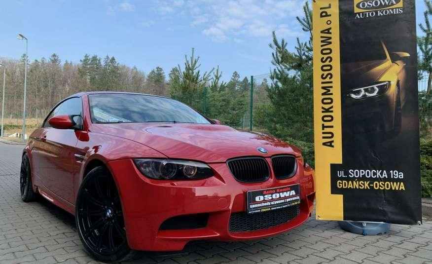 BMW M3 kabriolet 4.0v8DKG 421KM M-pakiet full serwis pełna dokumentacja 1r.gw zdjęcie 2