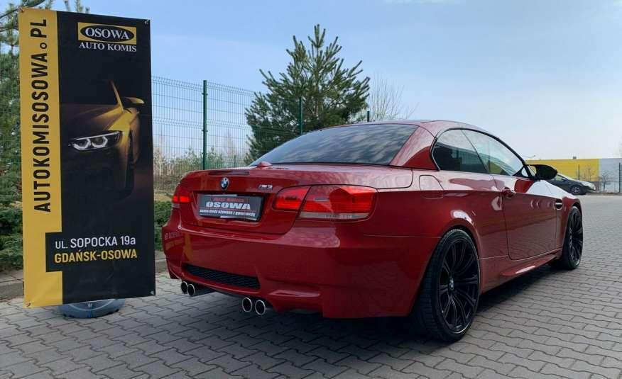 BMW M3 kabriolet 4.0v8DKG 421KM M-pakiet full serwis pełna dokumentacja 1r.gw zdjęcie 4