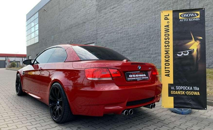 BMW M3 kabriolet 4.0v8DKG 421KM M-pakiet full serwis pełna dokumentacja 1r.gw zdjęcie 5