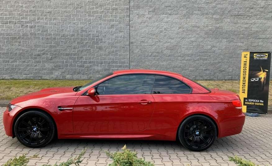 BMW M3 kabriolet 4.0v8DKG 421KM M-pakiet full serwis pełna dokumentacja 1r.gw zdjęcie 7
