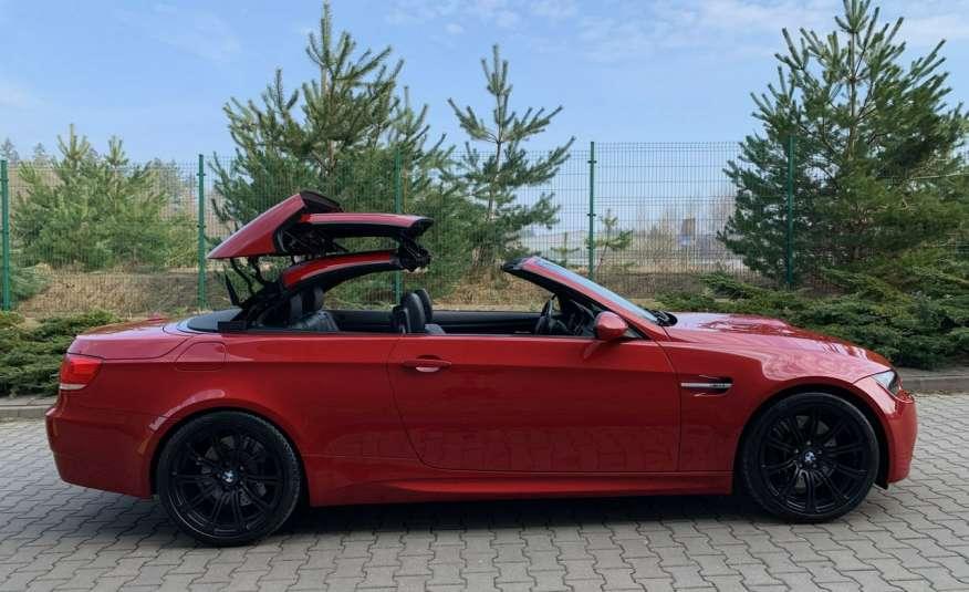 BMW M3 kabriolet 4.0v8DKG 421KM M-pakiet full serwis pełna dokumentacja 1r.gw zdjęcie 8