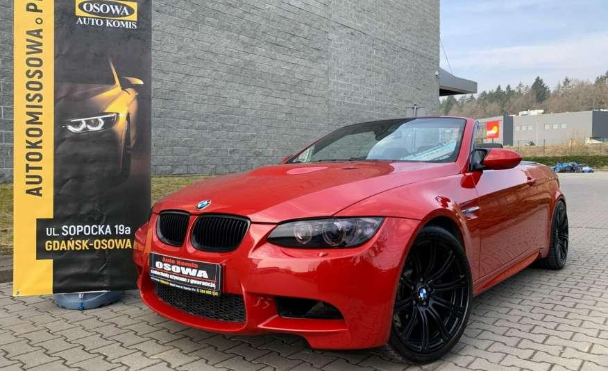BMW M3 kabriolet 4.0v8DKG 421KM M-pakiet full serwis pełna dokumentacja 1r.gw zdjęcie 10
