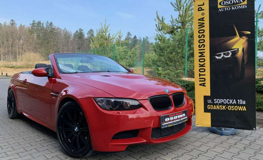 BMW M3 kabriolet 4.0v8DKG 421KM M-pakiet full serwis pełna dokumentacja 1r.gw zdjęcie 11