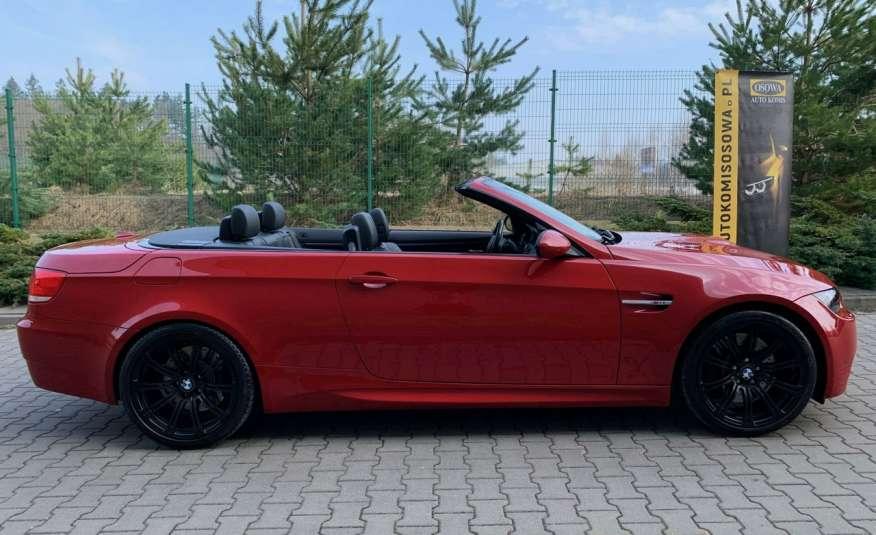 BMW M3 kabriolet 4.0v8DKG 421KM M-pakiet full serwis pełna dokumentacja 1r.gw zdjęcie 12