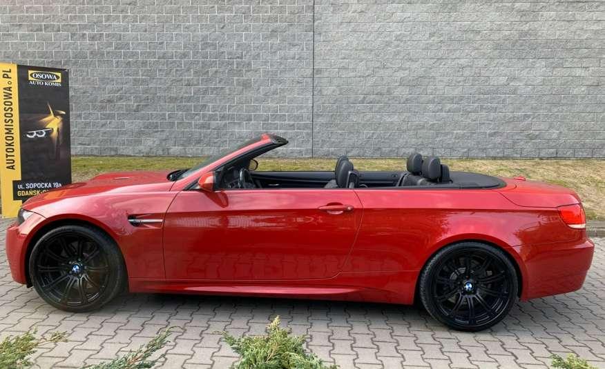BMW M3 kabriolet 4.0v8DKG 421KM M-pakiet full serwis pełna dokumentacja 1r.gw zdjęcie 13