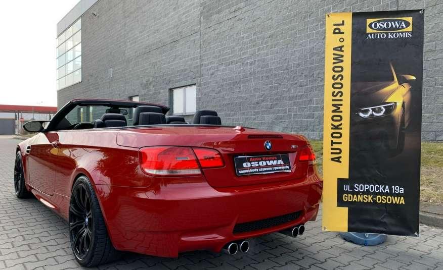 BMW M3 kabriolet 4.0v8DKG 421KM M-pakiet full serwis pełna dokumentacja 1r.gw zdjęcie 16