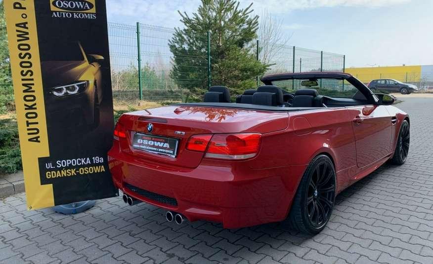 BMW M3 kabriolet 4.0v8DKG 421KM M-pakiet full serwis pełna dokumentacja 1r.gw zdjęcie 17