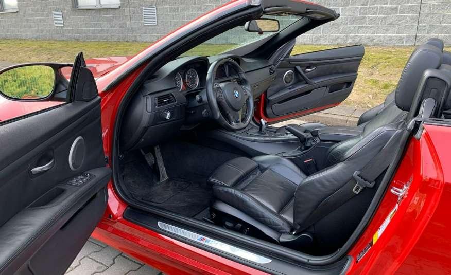 BMW M3 kabriolet 4.0v8DKG 421KM M-pakiet full serwis pełna dokumentacja 1r.gw zdjęcie 18