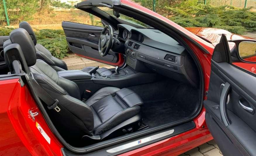 BMW M3 kabriolet 4.0v8DKG 421KM M-pakiet full serwis pełna dokumentacja 1r.gw zdjęcie 19