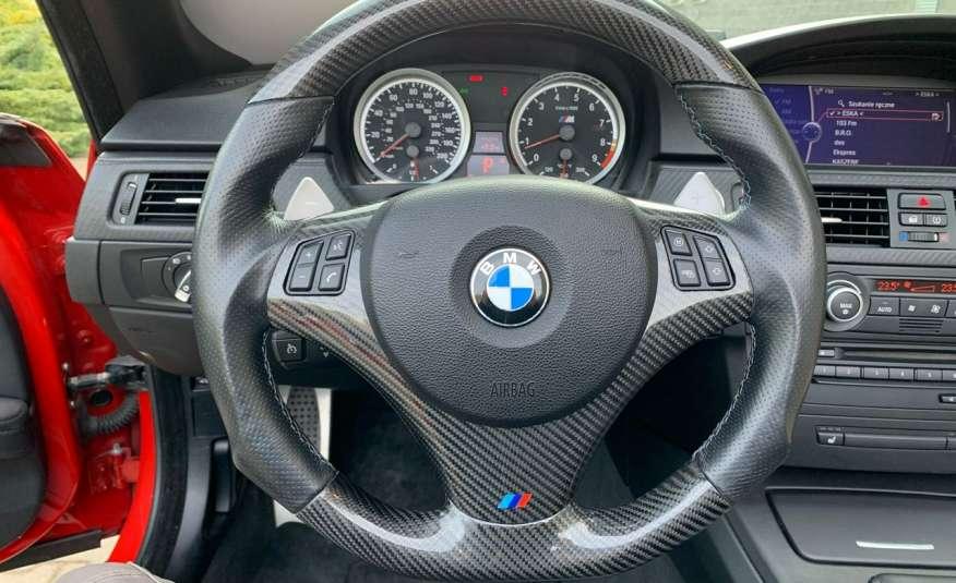BMW M3 kabriolet 4.0v8DKG 421KM M-pakiet full serwis pełna dokumentacja 1r.gw zdjęcie 23