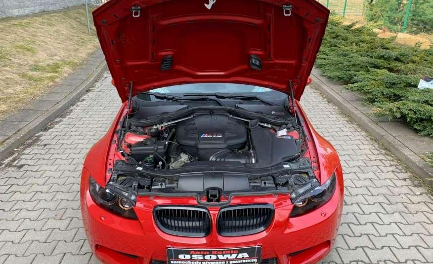 BMW M3 kabriolet 4.0v8DKG 421KM M-pakiet full serwis pełna dokumentacja 1r.gw zdjęcie 29