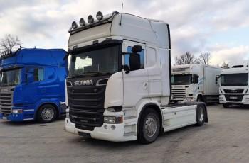 Scania R730 V8 scania 2014 pełna opcja alcoa skóry nawigavja