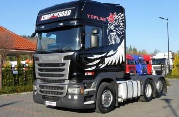 Scania R 490 E 6 Topline 6x2 Dop. Masa 66.T Po Złotym Kontrakcie