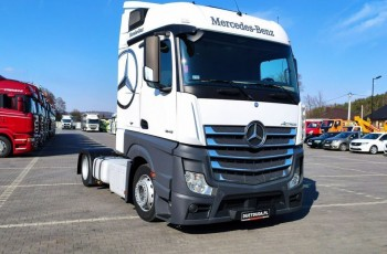 Mercedes ACTROS 1845 E6 MP4 Super Stan Low Deck Mega Lowdeck Salon PL