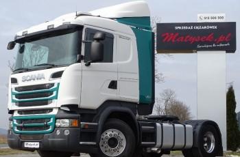 Scania R 520 / V8 / RETARDER / HYDRAULIKA / CR19 / EURO 6 / NAVI / KLIMA POSTOJOWA /