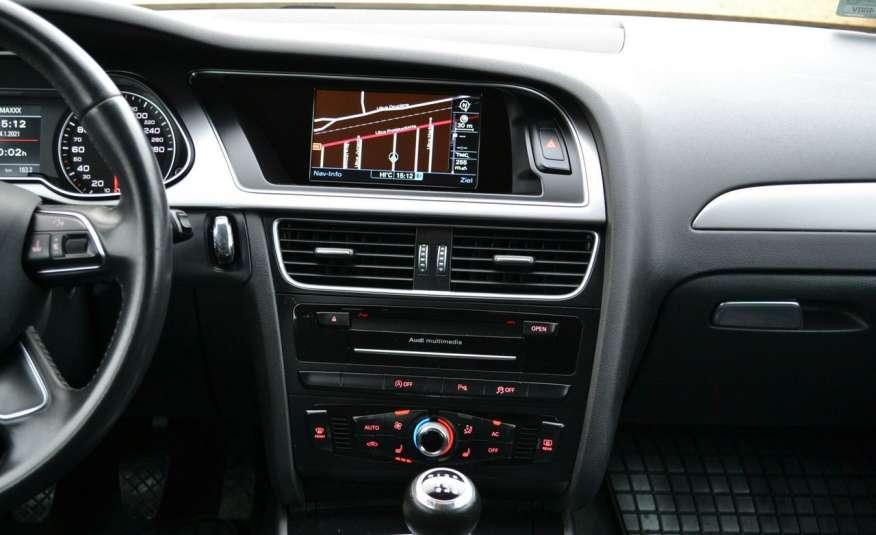 Audi A4 Alufelgi Pełny FiS Nawigacja Podgrz. fotele Climatronic Serwis Zarej zdjęcie 10