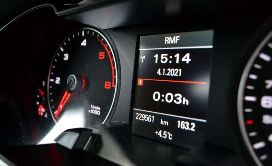 Audi A4 Alufelgi Pełny FiS Nawigacja Podgrz. fotele Climatronic Serwis Zarej zdjęcie 15