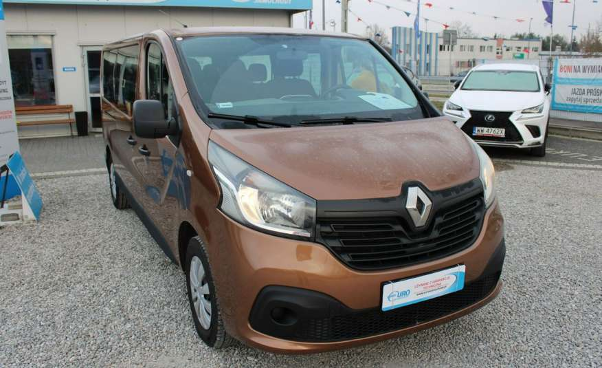 Renault Trafic F-Vat, Gwarancja.9-osób, Sal.PL zdjęcie 4