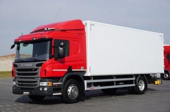 Scania / P 250 / E 6 / KONTENER / 17 PALET / ŁAD. 9166 KG / MAŁY PRZEBIEG