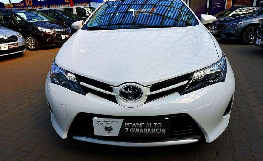 Toyota Auris 3 Lata GWARANCJA I-wł Kraj Bezwypadkowy IDEAŁ FV vat 23% D-4D 4x2 zdjęcie 1