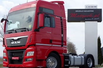 MAN TGX 480 / XXL / LOW DECK / MEGA / RETARDER / ACC / EURO 6 /